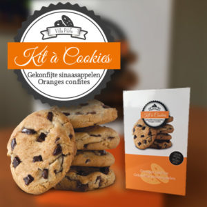 Kit à Cookies Oranges confites
