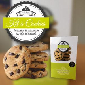 Kit à cookies - Pommes et cannelle