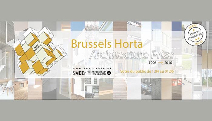 Prix Bruxelles Horta 2016
