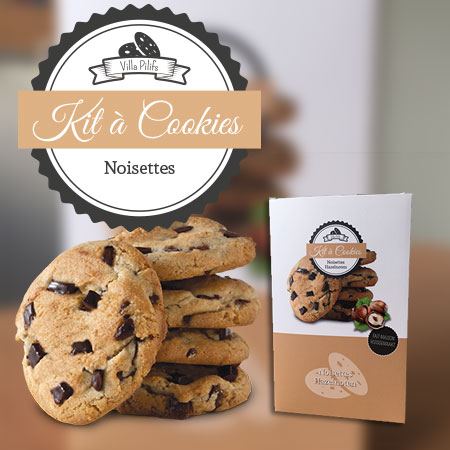 Kit à cookies noisettes