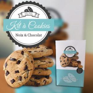 kit à cookies chocolat et noix